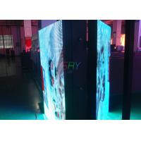 China Advertising Double Sided LED Cabinet , 1/4 scan Constant Current Waterproof LED Screen wholesale