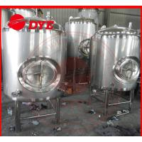 China 5BBL Stainless Steel Bright Beer Tank For Brewery High Precision Material wholesale