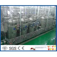China Soft Beverage Industry Cool Drinks Making Machine 5000 - 6000BPH ISO9001 / CE / SGS on sale