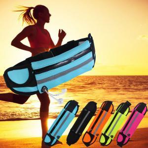 China Women Sport Waist Bag Waterproof Waist Pack Running Hiking Hydration Waist Gym Bag Tactical Phone Bike Outdoor Belt on sale