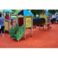 China Pour In Place Playground Surface Materials For Kids Playing Polyurethane Resin Material wholesale