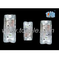 China Galvanized Steel Electrical Boxes And Covers Rectangular Iso Certificate wholesale