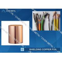 China Roll Size ED Copper Foil For Shielding, Made Of Red Copper wholesale