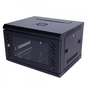 China Wall Mount 6u Server Rack Cabinet Sliding Shelf Cold Rolled Steel Plate wholesale