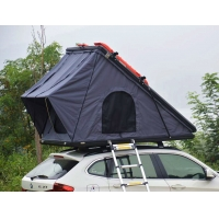 China Outdoor Camping Aluminum Hard Shell Roof Top Tent Safe Pop Up Tent wholesale
