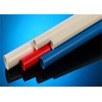 China White / Blue Color UPVC Electrical Conduit 2 Meters For Wire Protecting wholesale