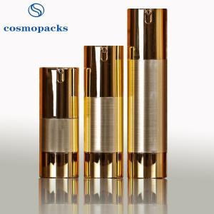 China 15ml 30ml 50ml hide Away Inner Pump Cosmetic Bottles For Travel wholesale