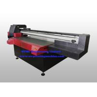 China Industrial Aluminum Digital Flatbed Printer , Wide Format Multifunction Printer With Varnish Printing wholesale