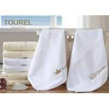 China 100% Cotton White Hotel Hand Towel 80 x 160 wholesale