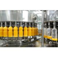 China Automatic Suspended Pulp Juice Filling Machine for PET / Glass Bottle 4 In 1 wholesale
