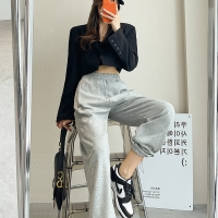 China Custom Casual Straight Wide Leg Suit Trousers OEM ODM wholesale