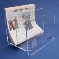 China countertop clear acrylic brochure holders custom lucite magazine holder on sale