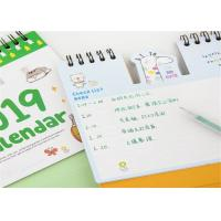China Advent Desktop Desk Wall Calendar Printing Services , Custom Printing Table Calendar wholesale