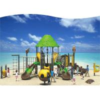 China Hot Galvanized Pipe Outdoor Playground Equipment For 3-15 Aged Kids 710*580*390cm Size wholesale