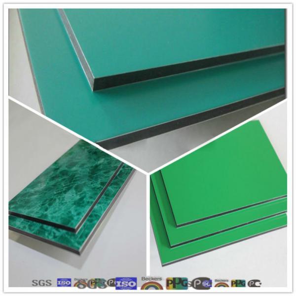 Fireproof Composite Panel : Fireproof aluminum composite panel board sheet of