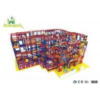 Buy cheap Indoor Kids Play Foam Big Indoor Play Centres Large Capacity With Swing from wholesalers