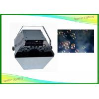China 25 Watt Special Effect Equipment , Small Bubble Machine With Remote Control wholesale
