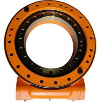 China Worm Gear Slew Ring Drive For Claw Truck , 50Mn Slewing Ring Drive OEM wholesale