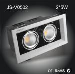 China 2*5W High power Epistar COB LED venture box light ceiling spot light wholesale
