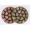 China Abrasion Resistant Diamond Floor Pads , Vacuum Brazed Resin Floor Polishing Pads wholesale