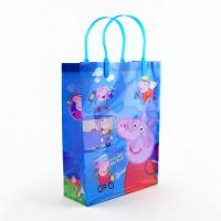 China custom blue plastic tote bags price environment for sale wholesale manufacturer wholesale