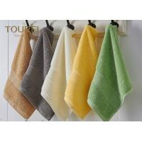 China 100% cotton Hotel Face Towel With Different Color wholesale