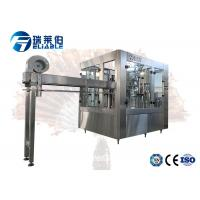 China Middle Capacity Carbonated Drink Filling Machine For PET Bottle on sale