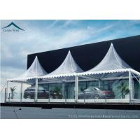 China White Marquee Pagoda Shape  Exhibition Event Tents For Conference wholesale