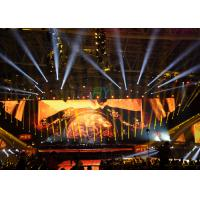 China 4mm HD Indoor Stage LED Screens , SMD2121 Full Color LED Stage Display wholesale