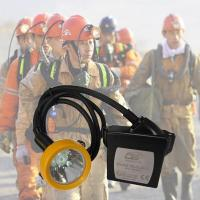 China 15000lux Waterproof Kl5lm Rechargeable Mining Hard Hat LED Lights wholesale