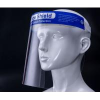 China Personal PET Protective Face Shield 450mm Strap Length Long Service Life wholesale