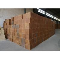 China Mullite Silica Refractory Bricks Bauxite Chamotte Material Brown Color For Cement Kiln wholesale