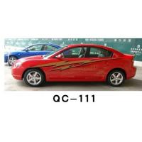 China Nontoxic Car Body Sticker QC-111F / Water Proof Car Decoration on sale