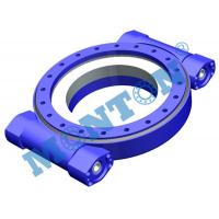 China High Precision Worm Drive Slew Ring Four Point Contact 9 Inch Outside Dia wholesale