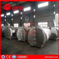 China DYE Stainless Steel Milk Transportation Tank Direct Expansion Refrigeration wholesale