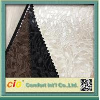 China PVC Vinyl Embossing Synthetic Leather Upholstery Fabric for Furniture / Bag / Garment wholesale