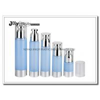 China Clear Plastic Airless Pump Bottles Containers , Empty Cosmetic Containers wholesale