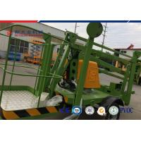 China Trailer 10 M Diesel Explosion Proof Hydraulic Lifting Platform Electric Articulated Boom Lift wholesale