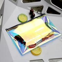 China Hot - Stamping TPU Film PVC Cosmetic Bag For Girl / Clear Makeup Organizer wholesale