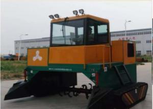 China Low Fuel Consumption 63KW 370m³/H Compost Turner Machine wholesale