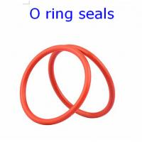 China ACM 70 Rubber O Ring Seals For Connector , Colored Orings Wear Resistant wholesale