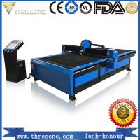 China Low cost plasma cnc cutting for metal material Hypertherm plasma power supplier, TP1325-105A, THREECNC wholesale