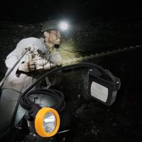China Rechargeable cree underground Mining Hard Hat LED Lights ATEX approved wholesale