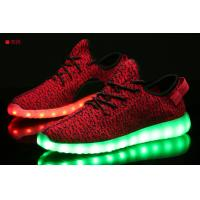 China Adults led light t5 led red tube com led laces shoe clip light LED shoes sneakers women on sale