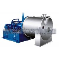 Buy cheap Large Scale Salt Centrifuge Machine Continuous Double Stage Pusher Centrifuge from wholesalers