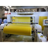 China S SS SMS Spunbond Nonwoven Fabric Making Machine , Non Woven Machinery Only Need 7 Days To Install Machine In Customer on sale
