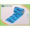 China Equine Elastic Horse Printing  Self Adherent  Wraping Bandages Cohesive Bandage wholesale
