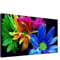 China 46 Inch Indoor Video Wall 3x3 3840*2160 Max Resolution Vivid Image Outline wholesale