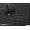 China Mesh Skin Neoprene Sponge Rubber Sheet Laminated Single Fabric wholesale