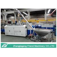 Buy cheap Environmental Protection WPC Board Production Line Conical Twin Screw Extruder from wholesalers